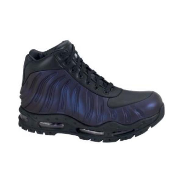 d57f3fe2f7e5 333791-504 Nike Foamposite Boot Varsity Purple Black Metallic Silver B08001