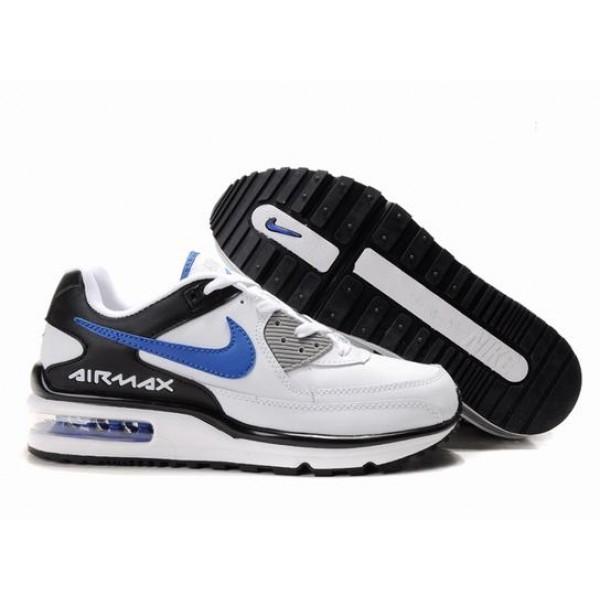 brand new be480 1909b 316391-019 Nike Air Max Ltd II White Black Blue D19019