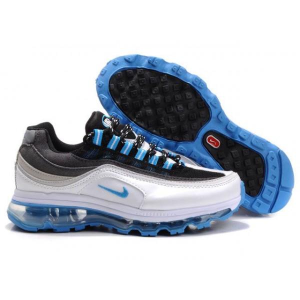 outlet store 8aa2d efc5d 397292-104 Nike Air Max 24-7 Wmns White Black Blue DW02010