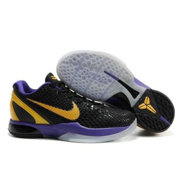 fcca2693be1f Nike Zoom Kobe VI Snakeskin Black Gold Purple K17055  Nike 6242 ...