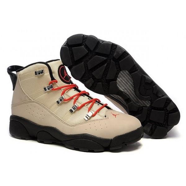 e852873c280650 Air Jordan Winterized 6 Rings Rocky Tan Black Varsity Red A6R009
