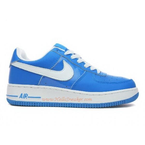 free shipping 47a8e d83e1 315115-414 Nike Air Force 1 Low University Blue White C03016