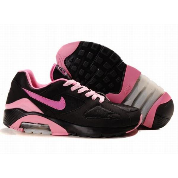 505016-009 Nike Air Max 180 Black Pink D07010 70fe99e842