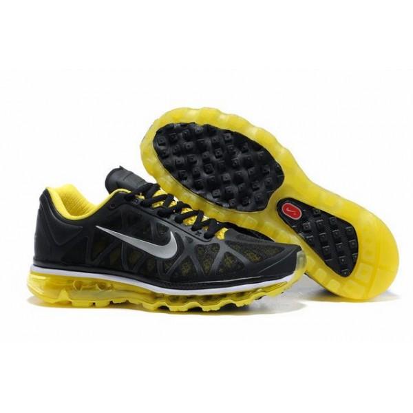 new styles 54d70 e3a37 429889-051 Nike Air Max 2011 Black Yellow D11039