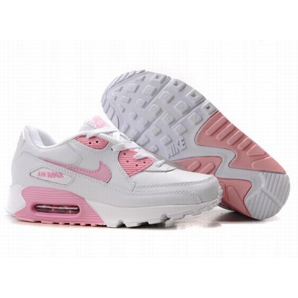 pretty nice 1aa6a 2af02 309298-008 Nike Air Max 90 White Pink D05001