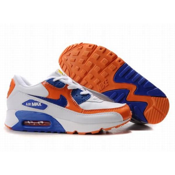 reputable site f3fa2 ea752 309298-017 Nike Air Max 90 Blue Orange D05009
