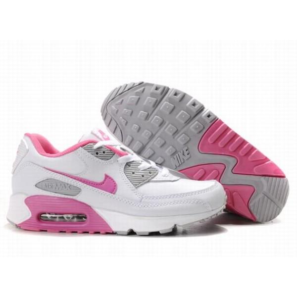 cheaper 74762 8f7ef 309298-011 Nike Air Max 90 White Pink D05004