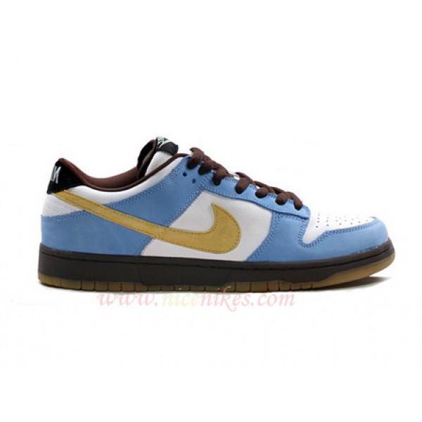 b45a5d2cf689 304292-173 Nike Dunk SB Low Pro Homer White Yellow-University Blue K03013