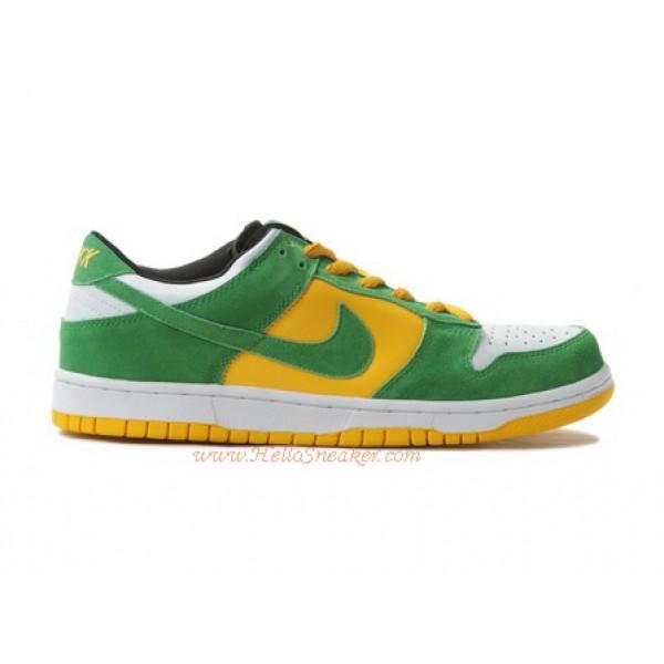 cb8916cdf93b 304292-132 Nike Dunks Low Pro SB Buck White Classic Green Del Sol K03009