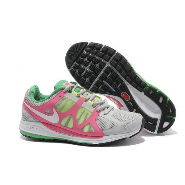 d146798ace5 487973-016 Nike Lunarglide 2 Women Pink Grey Green I06004