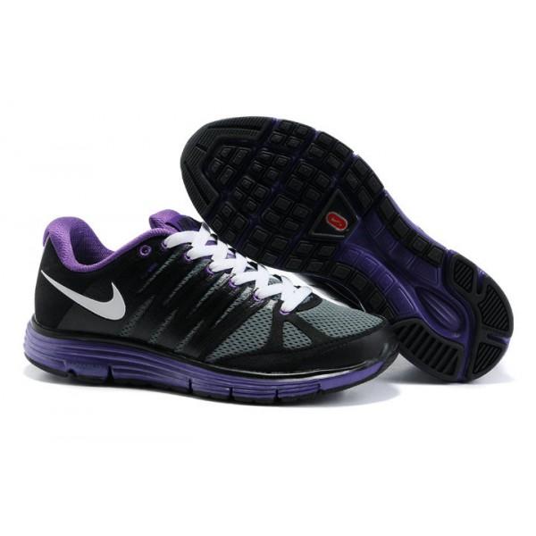 911e44611ce9 429783-105 Nike LunarGlide Black Purple I10028