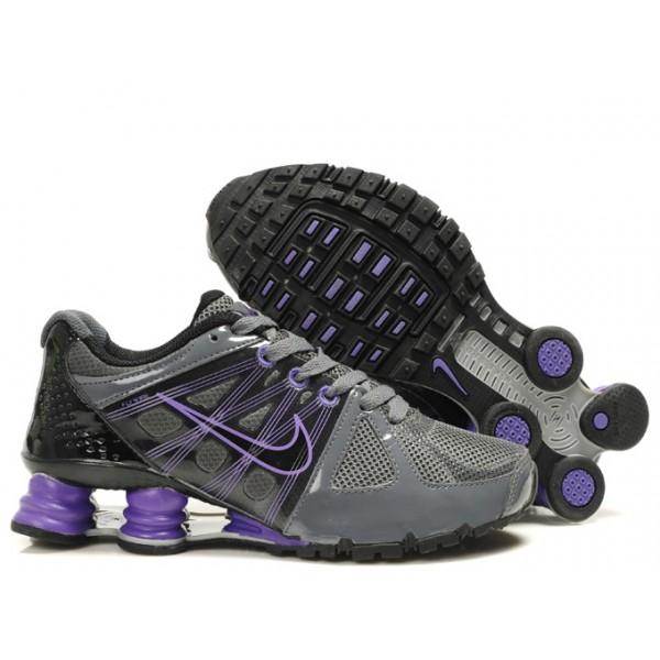 438683-105 Nike Shox Agent Grey Purple J01003 8d88aa0967d