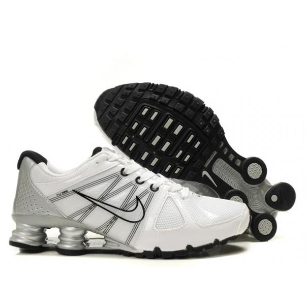 online store 395e1 e02ce 438684-006 Nike Shox Agent White Black J01006