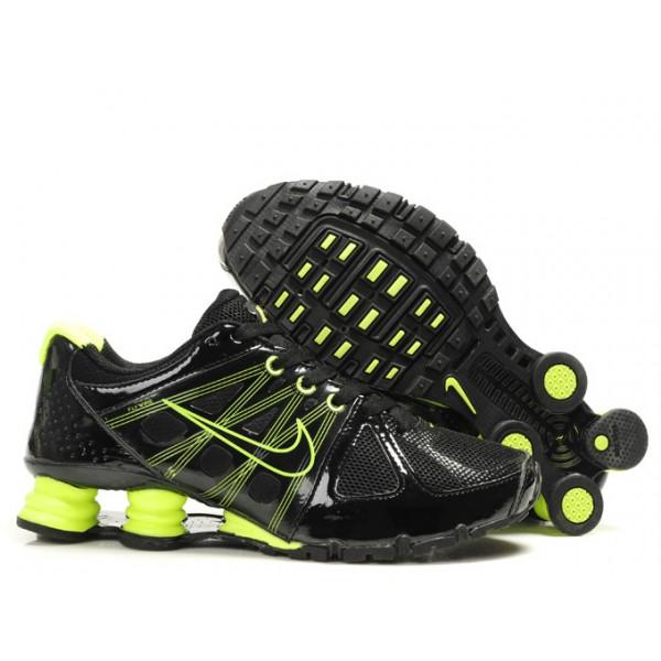 c54fb55c37de 442161-006 Nike Shox Agent Black Green J01009