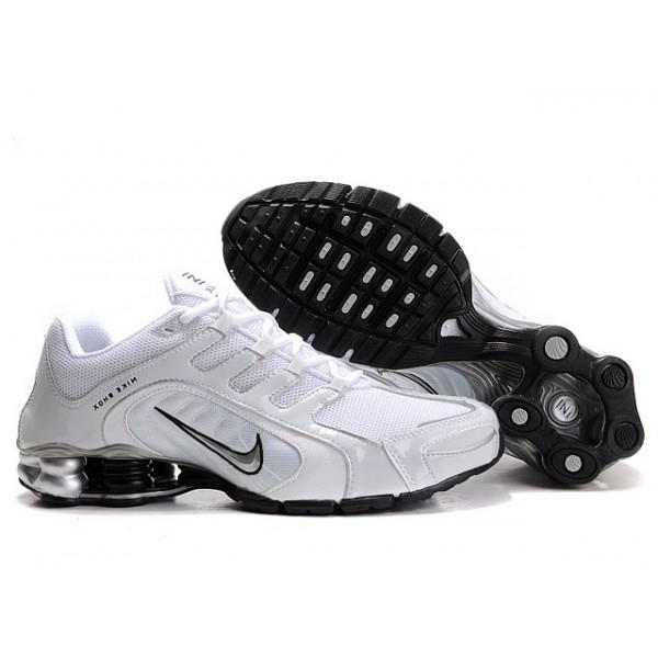 best website 8eb3d f41d8 240265-014 Nike Shox Navina SI White Black J03007