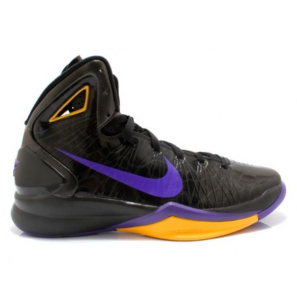 the best attitude 43ca2 08d10 407625-003 Nike Hyperdunk 2010 Black Varsity Purple Del Sol K07001