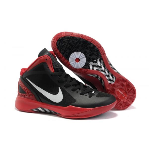 detailed look 5765e caf28 454143-004 Nike Zoom Hyperdunk 2011 Black White Varsity Red Metallic Silver  K07003