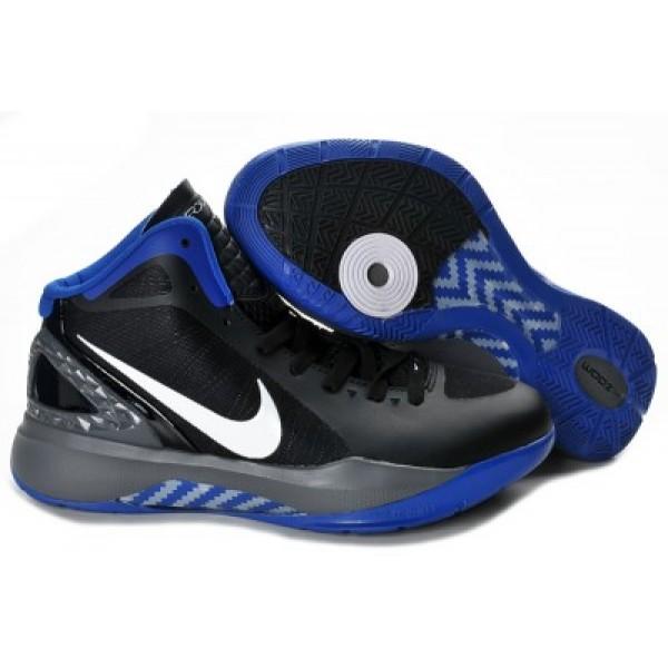 sports shoes 4089d 6641b Nike Zoom Hyperdunk 2011 Basketball Shoes Black Blue K07009