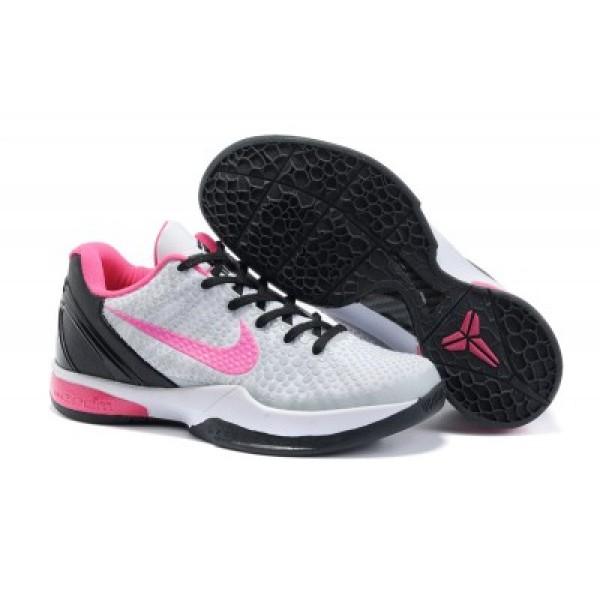 online store 6e7eb e63c9 Nike Zoom Kobe 6 Kids Shoes Grey Pink Black K19007