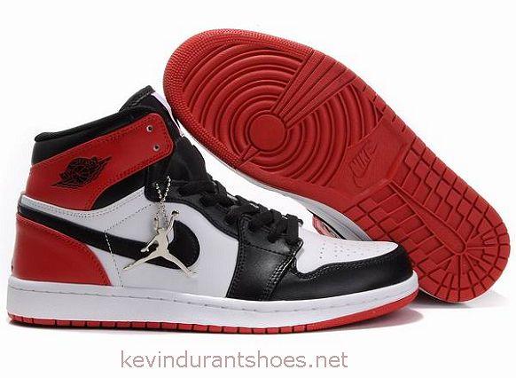 buy popular 87096 c4042 Air Jordan 1 Retro White Black Red ID-004
